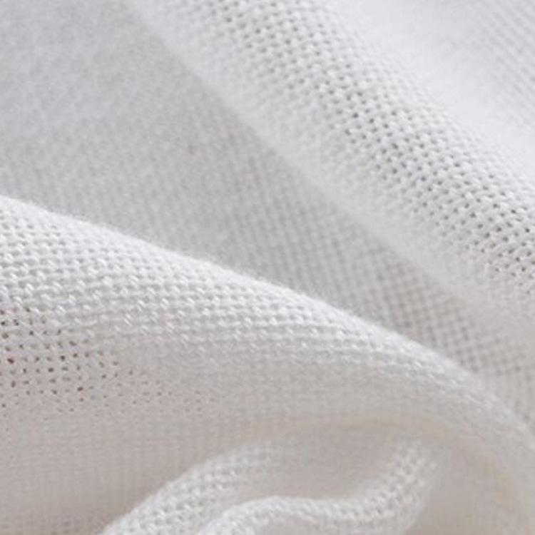 Bébé gaze blanche simple couche 70 * 40cm bébé gaze coton couches couches non-couches