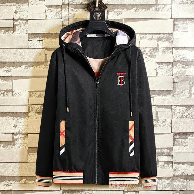 2020 yeni Tasarımcı Hoodie Erkek Giyim koşu paltosu Erkek Tasarımcı Ceket Giyim koşu mont Erkek Tasarımcı Palto