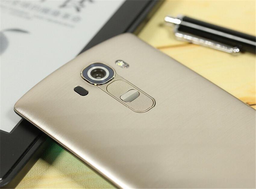 Recuperado Original LG G4 H815 H810 H811 5,5 polegadas Android 5.1 Hexa núcleo 3GB RAM 32GB ROM 16MP 4G LTE Desbloqueado Mobile Phone DHL