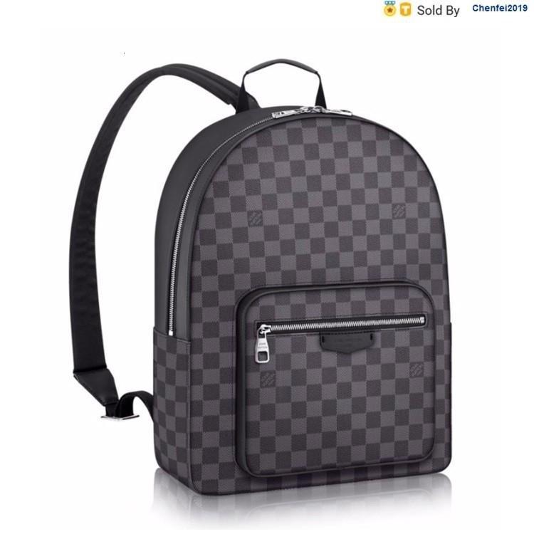 chenfei2019 53NT Black Grey Backpack N41473 Black Totes Handbags Shoulder Bags Backpacks Wallets Purse