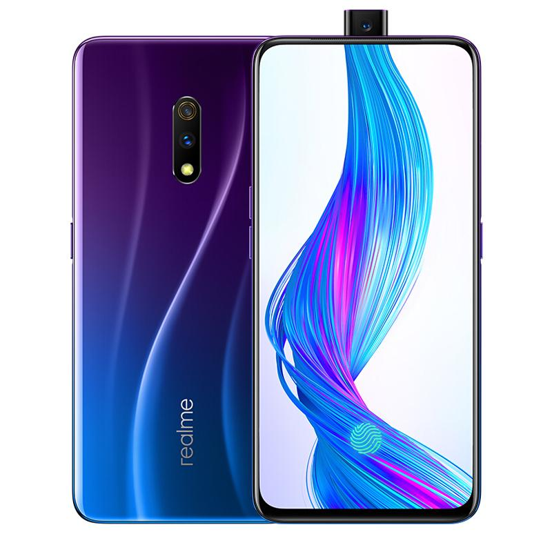 "Original Oppo Realme X 4G LTE Cell Phone 6GB RAM 64GB ROM Snapdragon710 Octa Core Android 6.53"" Full Screen 48MP Fingerprint ID Mobile Phone"
