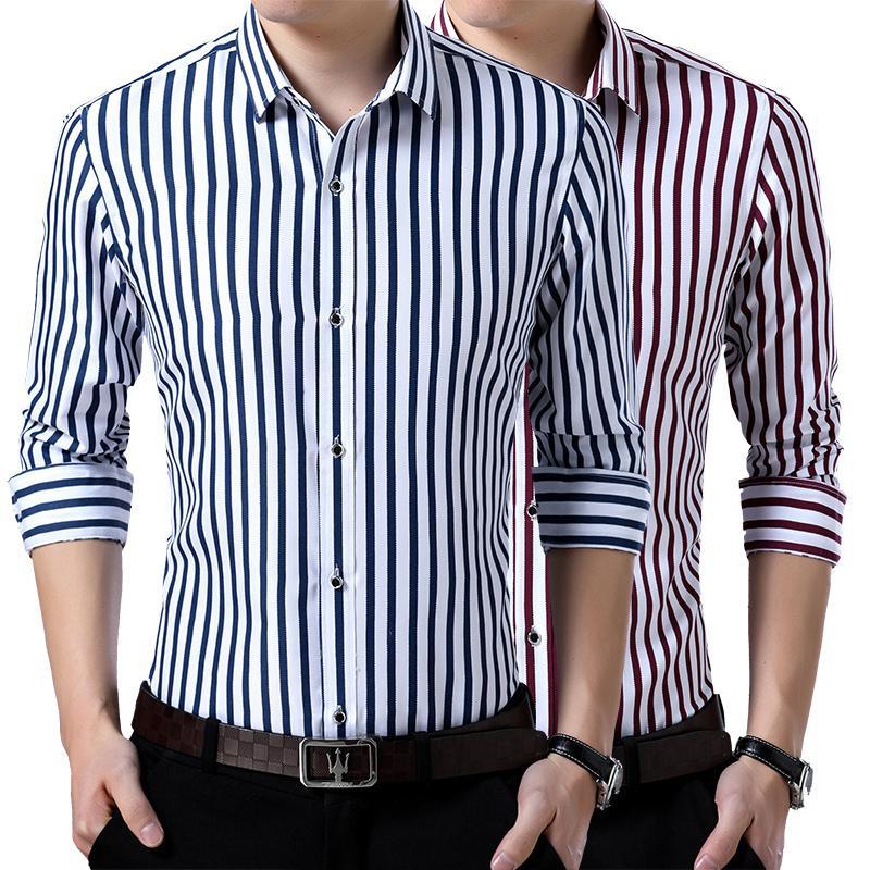 Французский манжета Mens платье с длинным рукавом высокого качества Regular Fit Мужской Социальная Свадеб Запонки Рубашка Плюс Размер 5XL