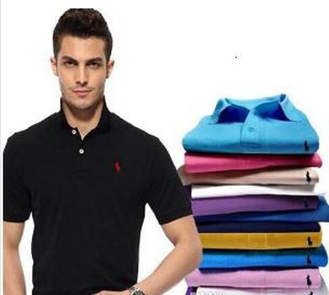 Hot Sell NEW Polo Shirt Hommes Haute Qualité Crocodile Broderie Logo Street Summer Coton Coton Polo Chemises Mens