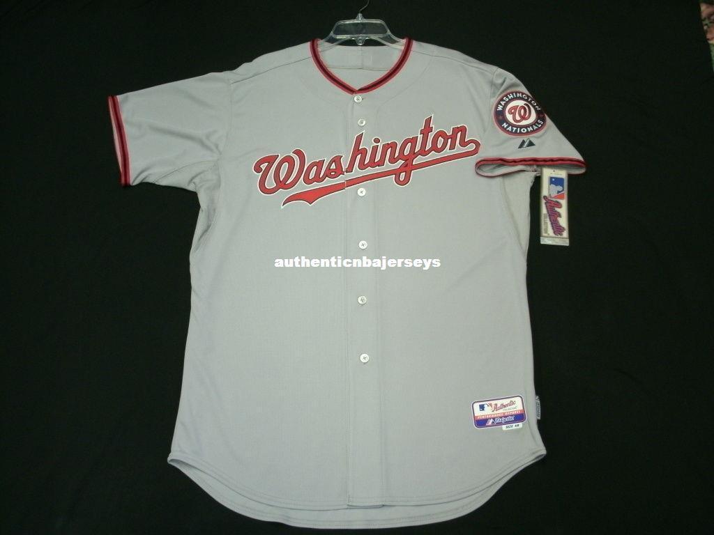 Majestic barato WASHINGTON blanco camino gris EN CAMPO Jersey para hombre cosido al por mayor de grandes y altos TAMAÑO XS-6XL camisetas de béisbol