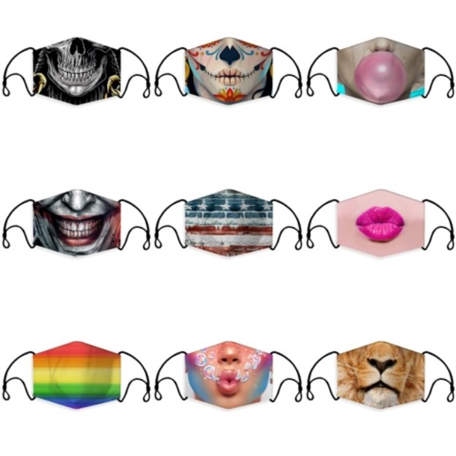 Poliuretano poroso com máscara de respiração Válvula Rosto Anti-Poeira Poluição lavável reutilizável qualidade, mais seguro Criança S Máscara ProtectionPM2.5 # 652