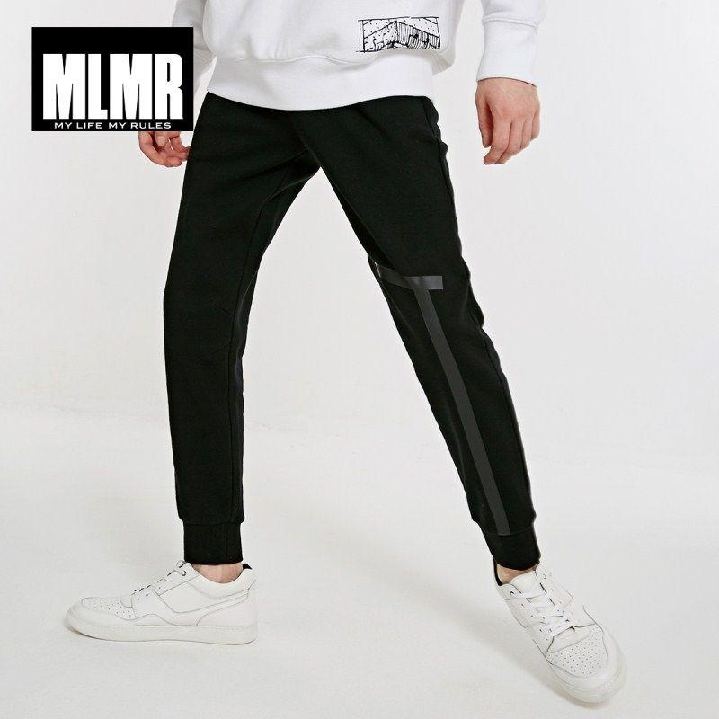 MLMR ocasional de los hombres de algodón pantalones de punto M | 218414516