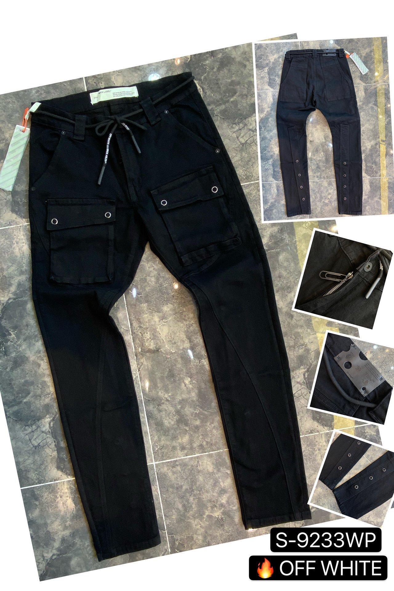 toptan 2020 Yeni Erkek Sıkıntılı Biker Jeans Slim Fit Biker Motosiklet Denim İçin Erkekler Moda Hip Hop Erkek Jeans ~~ AE41 Ripped