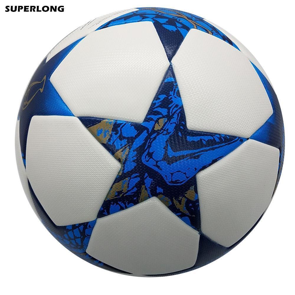 2016-2017 Сезон размер Cardiff Лиги чемпионов 5 Футбольный мяч PU Материал Профессиональный конкурс поезд прочный футбольный мяч