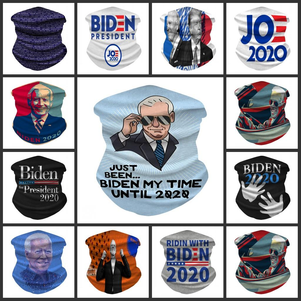 Biden 2020 Foulard Bandana Masque sans couture Magic Tube Keep America Great Bandeaux Sports de plein air Cyclisme Couvre-chef Neck Gaiter