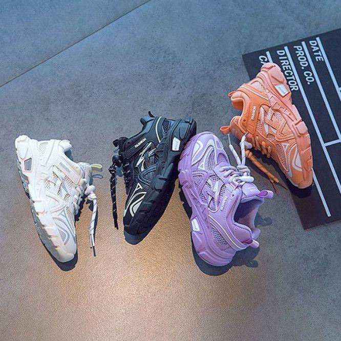 Детская Дизайнерская Обувь Мальчики Девочки Дети Мода Mesh Дышащие High Quanlity Обувь для мальчиков Новый Повседневный Спорт Стиль кроссовки