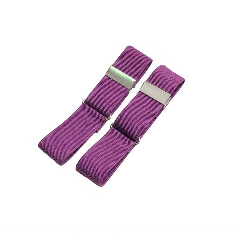 elastische Jacquard Jacquard-Band-Hemd 2,5 Herren-Hemd Band elastische Binde verstellbare Armband Mehrfarben tBzEK