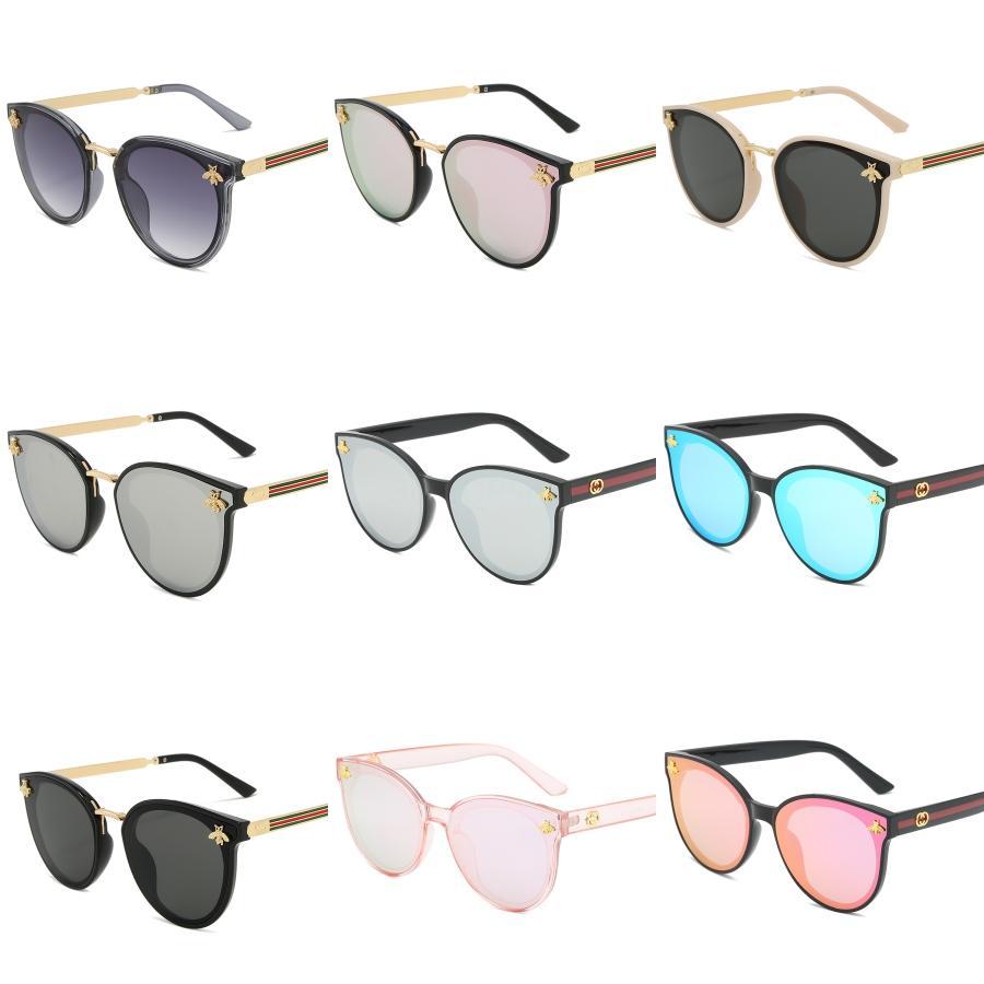 Art und Weise polarisierte Sonnenbrille Männer Frauen Metallgoldrahmen-Sonnenbrille fährt Design Quadratische Brillen UV400 Mit FML # 966