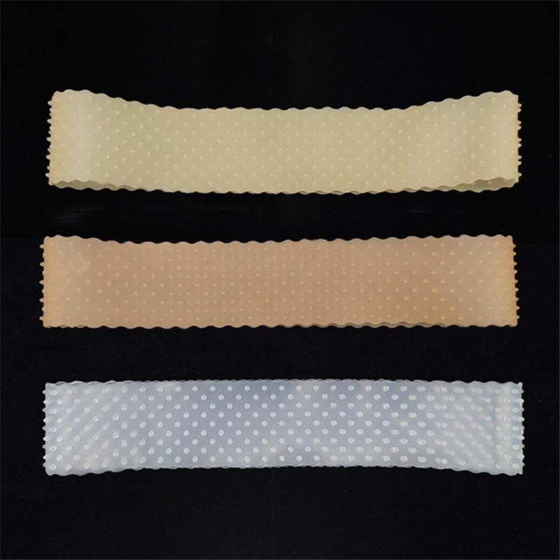 Neue Art und Weise Silikon-Stirnband Männer Frauen Gym Sport Kopf Kopftuch Anti-Rutsch-Gummi Schweißband Haarreif 4 Farben 22 * 4cm 2020