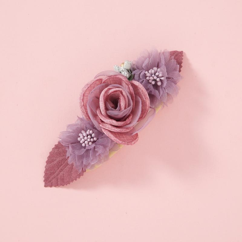 1шт цветок оголовья ребёнки Босиком сандалии волосы ноги аксессуары Упругих мод Foot украшение Дети подарки
