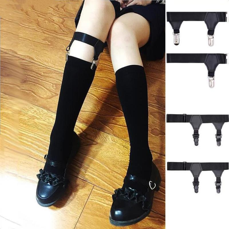 fashion Bridal Garters Sexy Elasticity Harness Heart Leg Chain Belts Cosplay Spike Elastic Thigh Ring Garter gifts