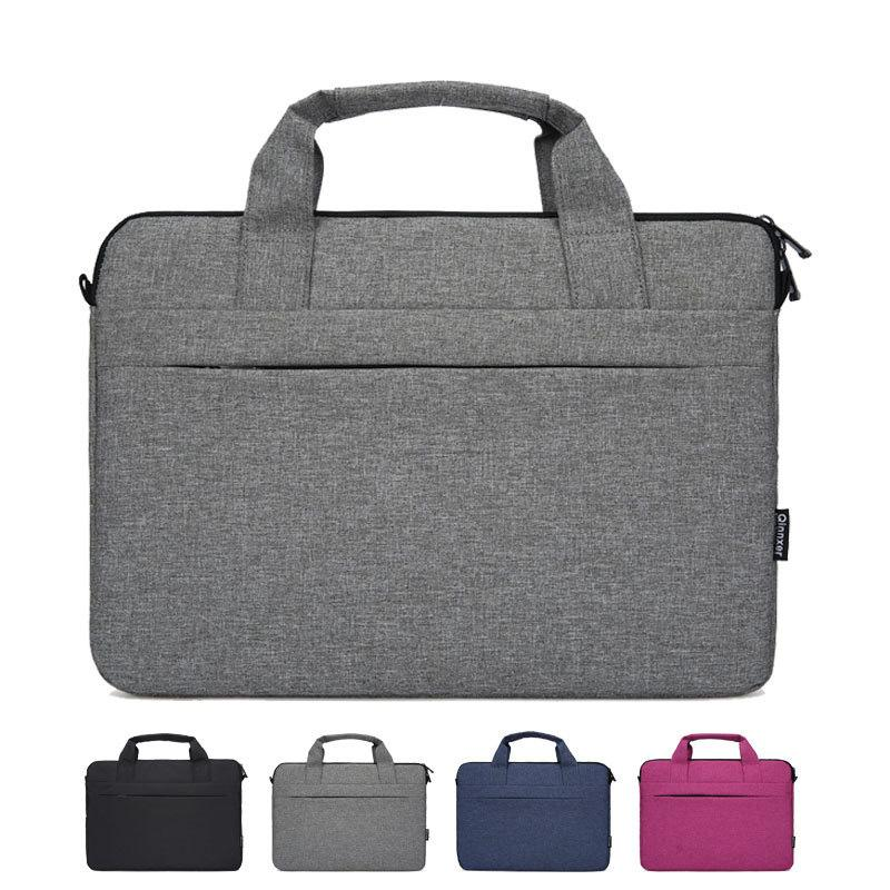 Computador Laptop Bag Briefcase bolsa para Dell Asus Lenovo HP Acer Macbook Air Pro Xiaomi Bag WJJ
