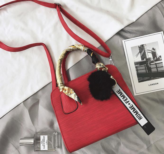 Designer 2020 neue Art und Weise weibliche Beutel einfach und universell einsetzbar bowknot Damen Einzel Schulter Messenger Bag