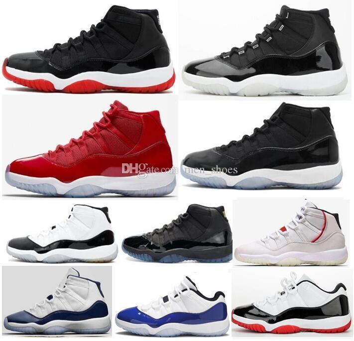 11 Jubilee 25th Yıldönümü Bred Uzay Reçeli Concord 45 Basketbol Ayakkabıları Erkekler 11s Midnight Navy Gama Mavi Metalik Gümüş Sneakers