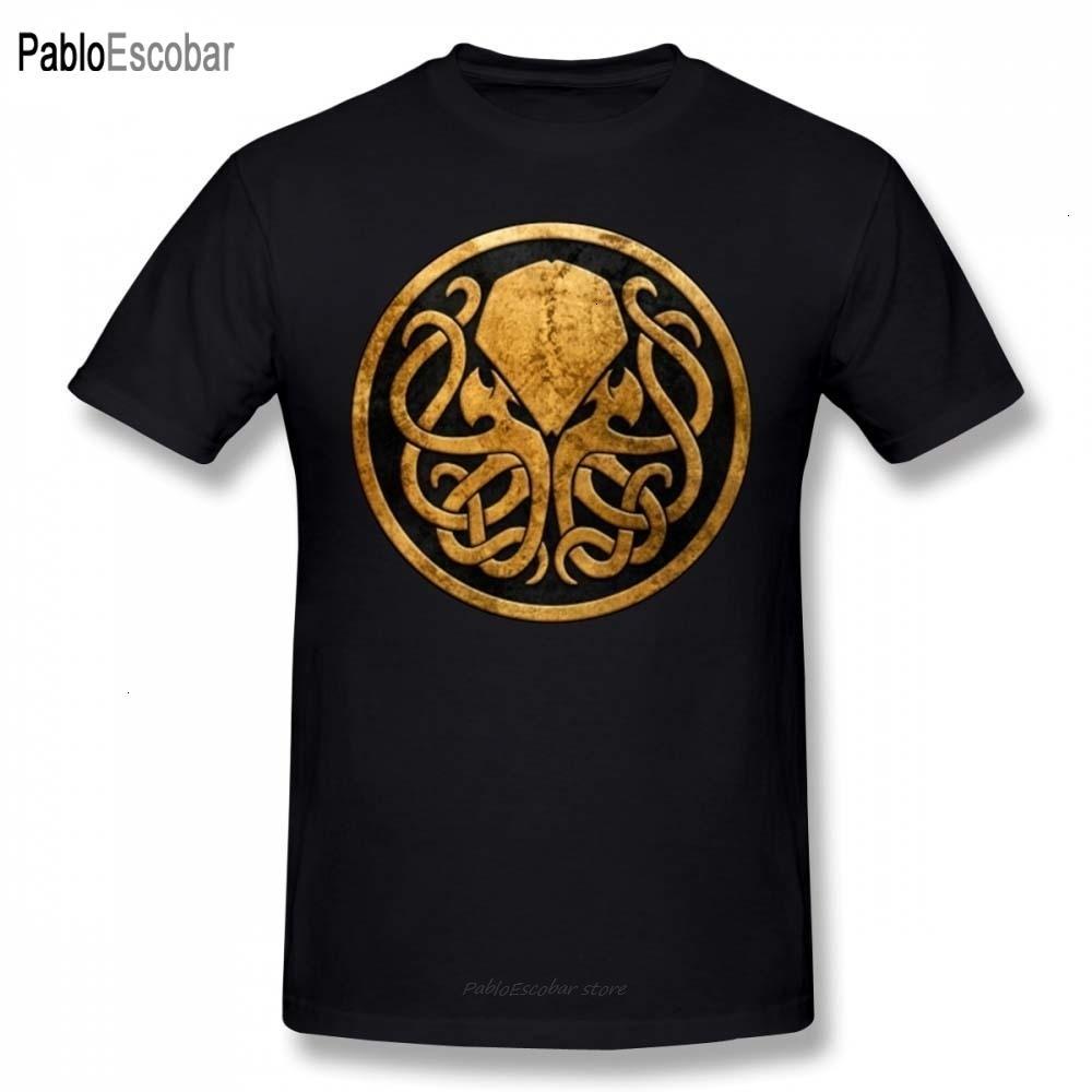 Ктулху Футболка Ктулху Футболка Man Смешной Tee Shirt Бич Graphic Short-Sleeve 4xl 100 процентов хлопка Tshirt