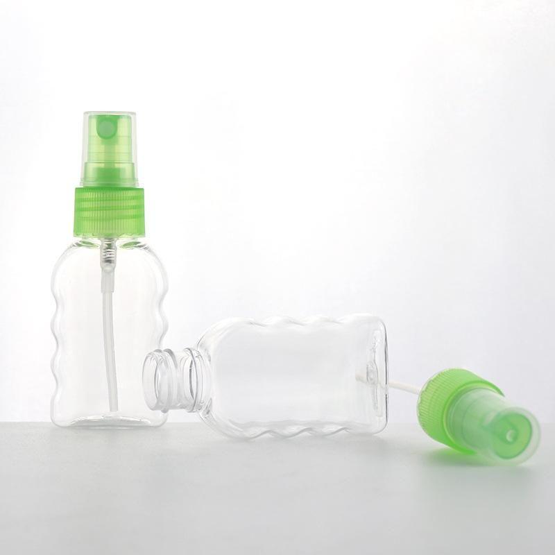 ПЭТ-бутылки 30мл Прозрачный Бутылка Fine Mist Спрей Бутылка Spray Спрей Малый Суб-бутылки цветок