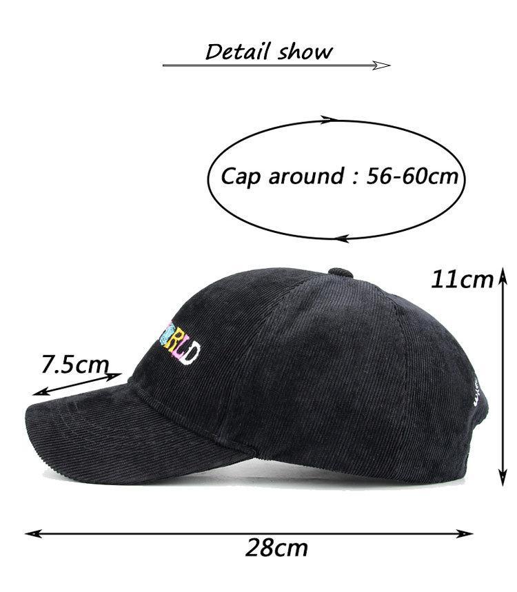 Mens Chapéus Hot Sale última moda Cap Bordados Letters ajustável Baseball Algodão Caps frete grátis Streetwears