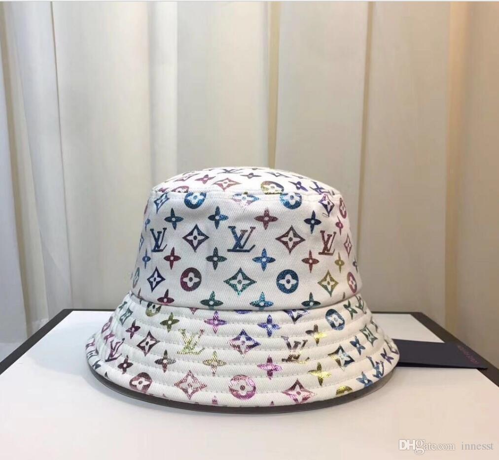 cappello da sole 2021 Nuovo cappello pescatore del cappello della benna di lusso della moda di alta qualità di viaggio classico per gli uomini e le donne A2