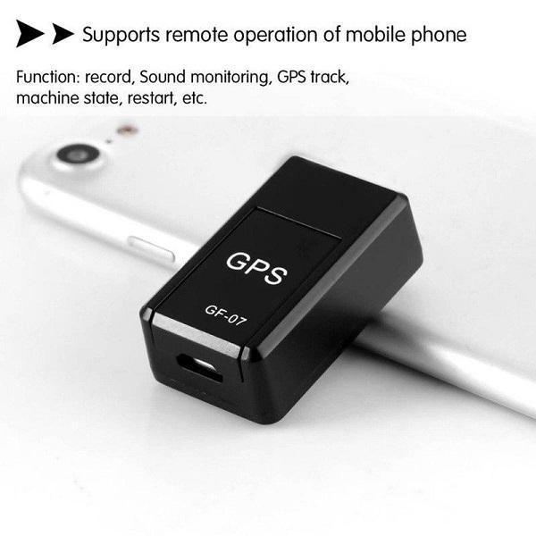 Venta caliente, Nuevo Mini GF-07 GPS Mini GPS Long STANDBY Magnetic SOS Rastreador Localizador Dispositivo de voz grabación