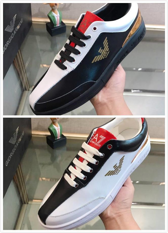 Europäische Station neue Männer-beiläufiger Komfort vielseitig Schuhe mit Business-Kleidung weichen Boden verschleißfeste rutschfesten Schuhen