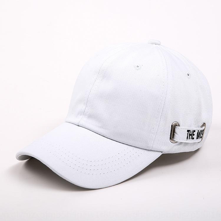 3kghv Chapeau de noir de la marque de mode masculine a atteint un sommet baseball Pointu capcap printemps coréen et casquette de baseball automne décontracté brodé tout-match de la rue