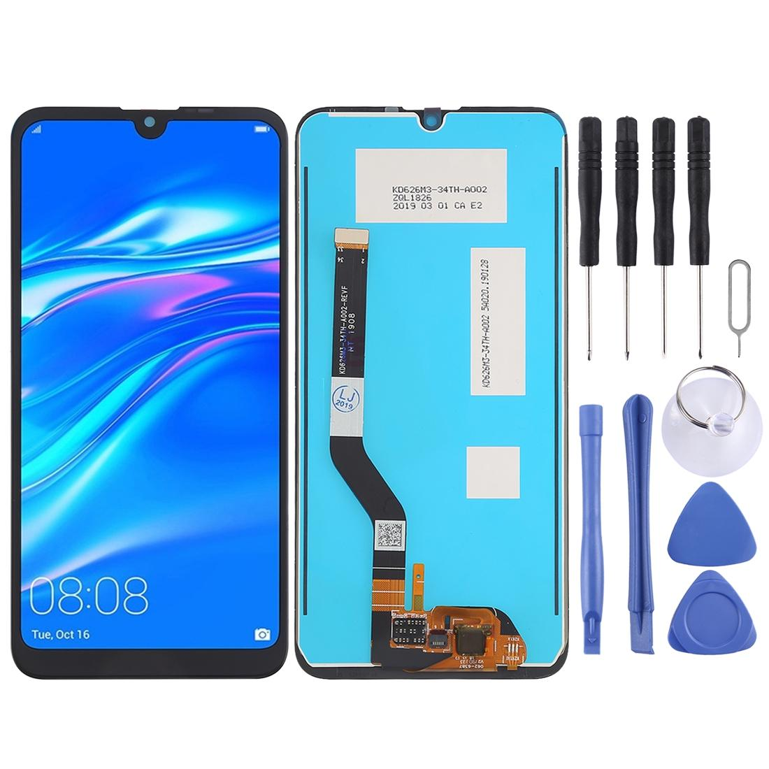 Tela LCD e digitador Assembléia completa para Huawei Y7