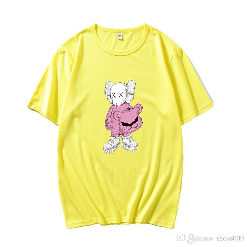 2020ss T-shirts Mode Hommes T-shirt d'été Rue Sésame Femmes Marque T-shirt unisexe Hauts de haute qualité
