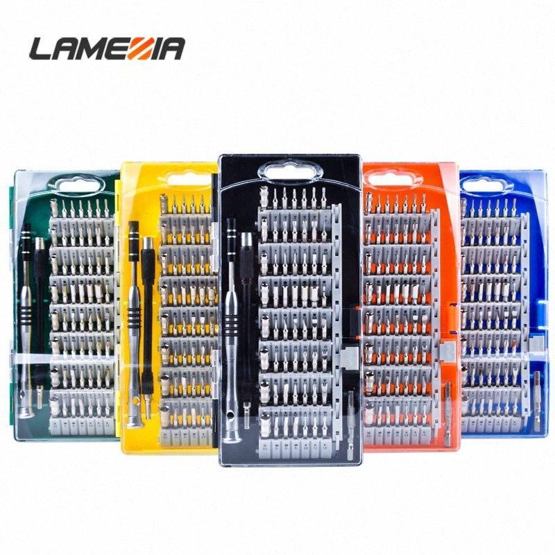 LAMEZIA 60 В 1 CRV Точность с ручкой Набор отверток Многофункциональный винтовыми Инструменты Драйвер Ремонт для телефона PC OvZ2 #