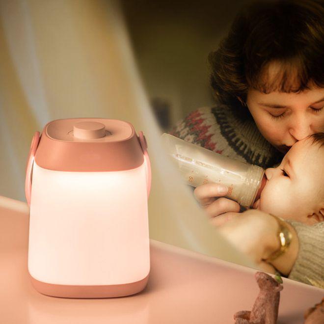 TWCH LENight лампа с красочными огнями и прекрасной музыки используются светодиодные ручной лампы Перезаряжаемый Плавное затемнение Портативный LED шариков