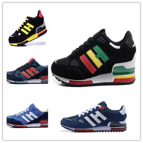 Adidas Originals ZX750 2019 EDITEX Originals ZX750 escuro Bluebird Slate Sneakers zx 750 homens e mulheres negros Verde Vermelho Running Shoes Tamanho 36-44 PP04
