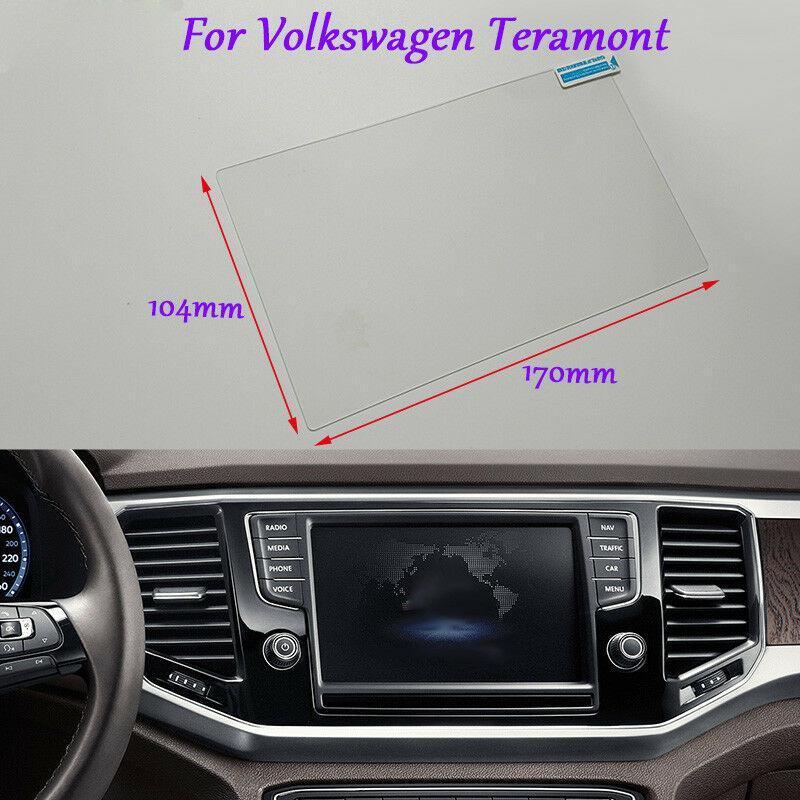 Внутренние аксессуары для Volkswagen Teramont навигации GPS Экран стекла Clear Защитная пленка 8 дюймов