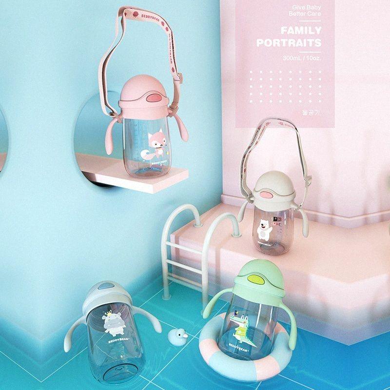 Private BEDDYBEAR CHILDREN'S Cups Straw Cup Baby-Kinderzimmer Shatter feste Junge STUDENTEN Sommer Sippy Tasse Infant wk3y #