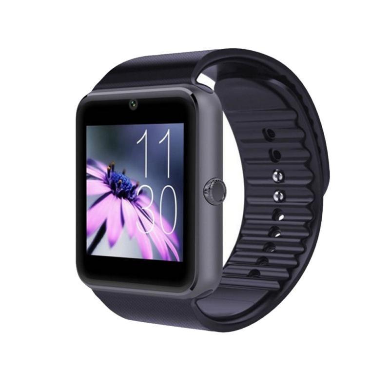 GT08 Smart Watch Bluetooth Smartwatches Smartphones SIM-Kartensteckplatz NFC Health Watchs für Android mit Kleinkasten 4 Farben