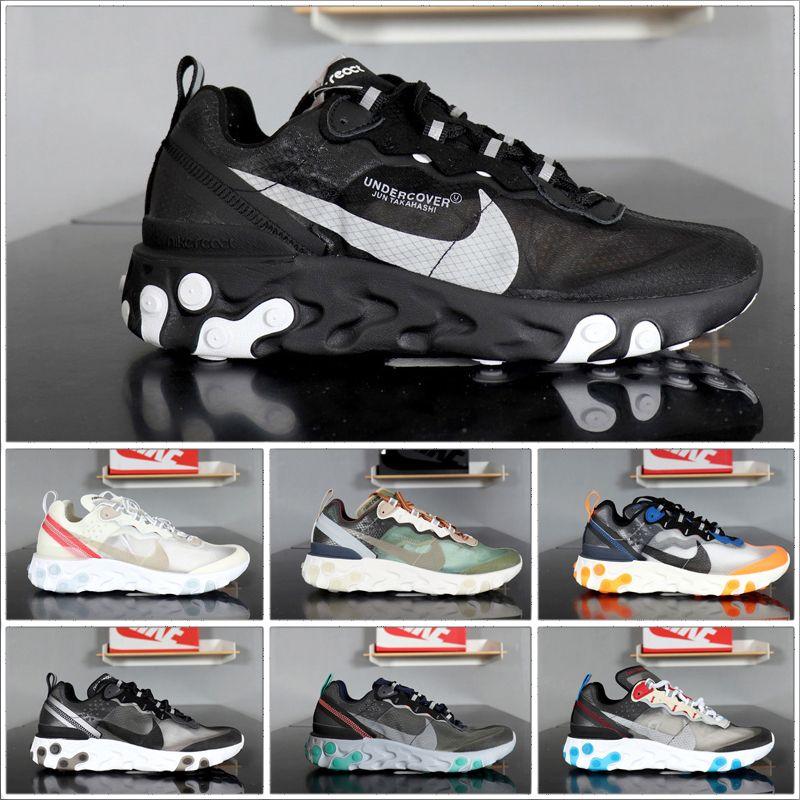 2020 nuovo cuscino 87 scarpe di sport degli uomini di alta qualità classiche scarpe da tennis economici 10 colori di sport Formato dei pattini correnti 40-45
