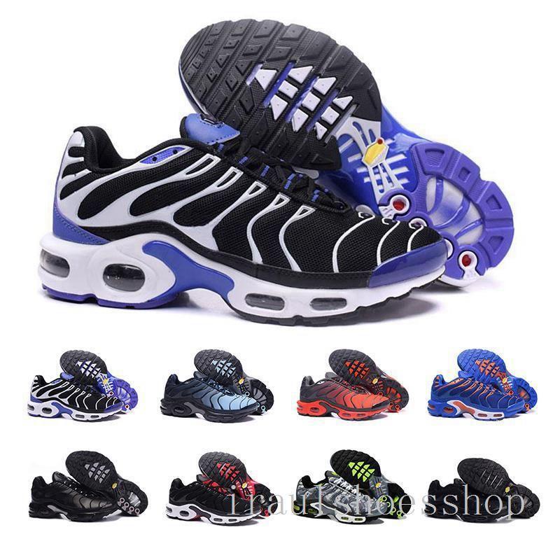 TN Plus-Turnschuh-laufende Schuhe Triple Black Weiß Volt Violet Sliver Gradient Männer Frauen ALUMINIUM Sunset Trainer