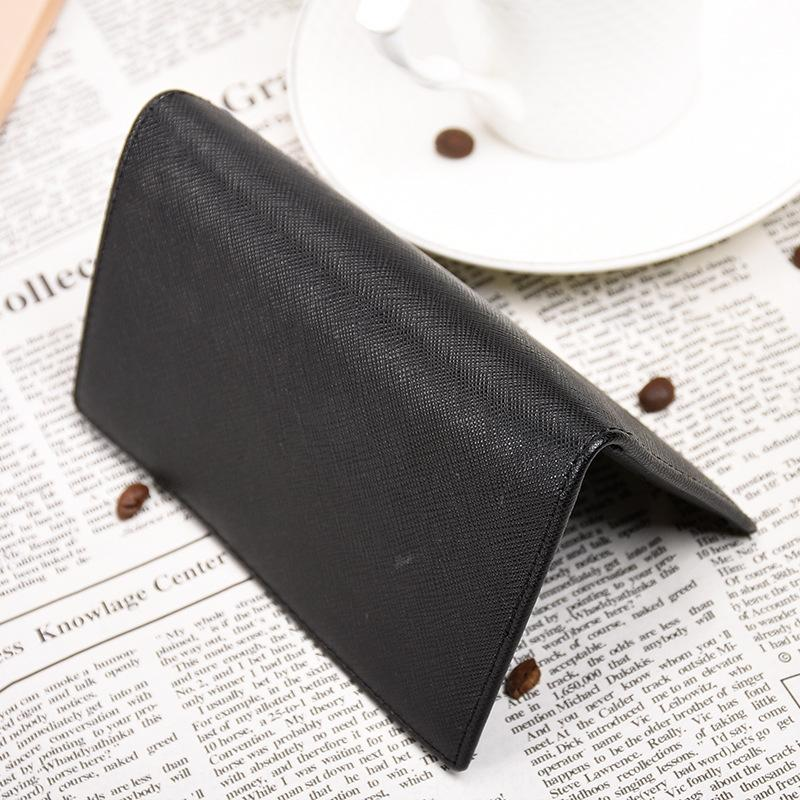RFID new Men's ultra-thin Suitcase bag simple small bag holder female multi-card driver's license leather case card holder