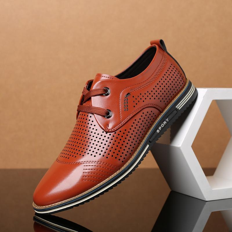 블랙 운전 신발 플러스 사이즈 37-47에 정품 가죽 남성 캐주얼 신발 2020 남성 로퍼 모카신 통기성 슬립