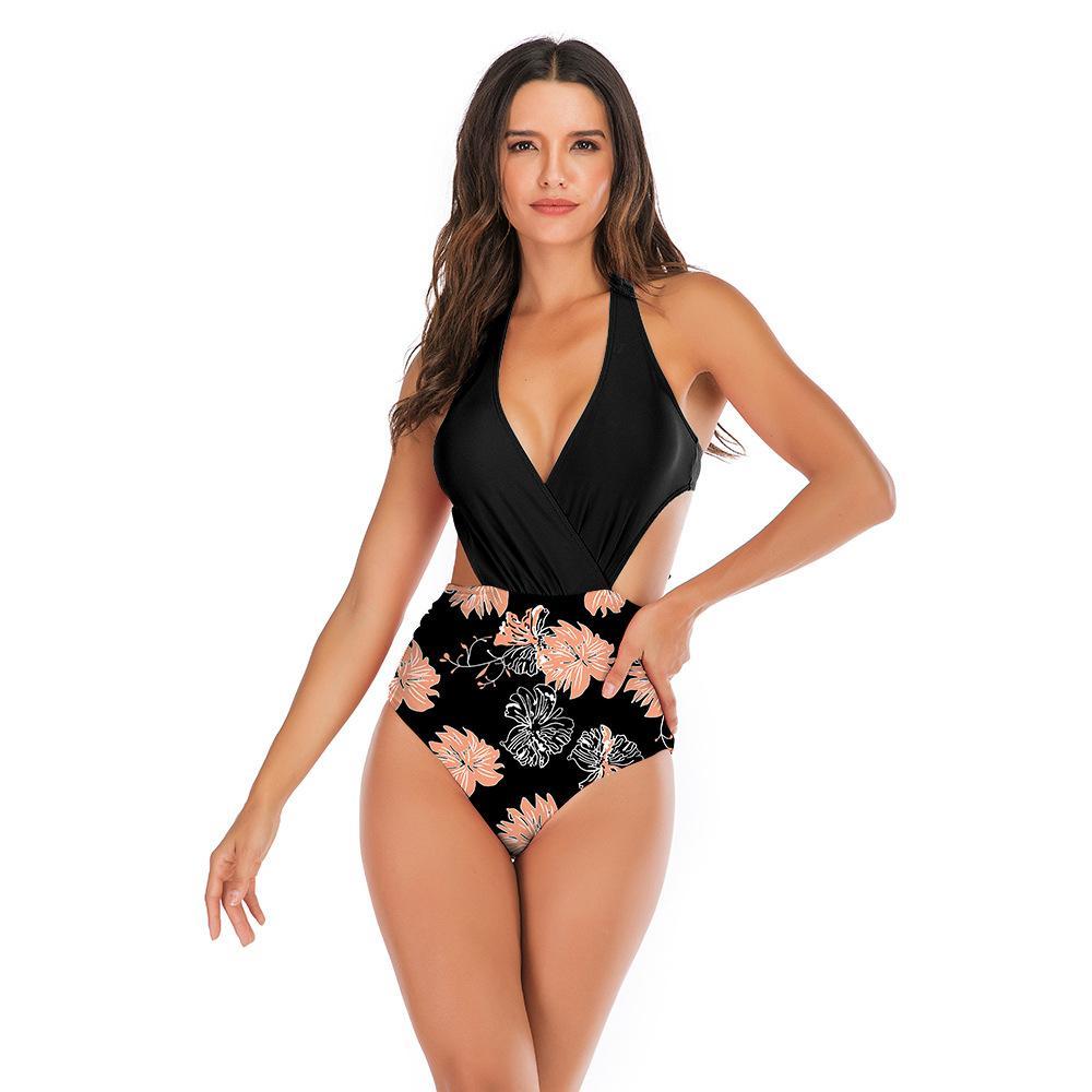 2019 nuovi europei e americani costumi da bagno Amazon pezzo superiore di vendita pezzo sexy un bikini costume da bagno delle donne