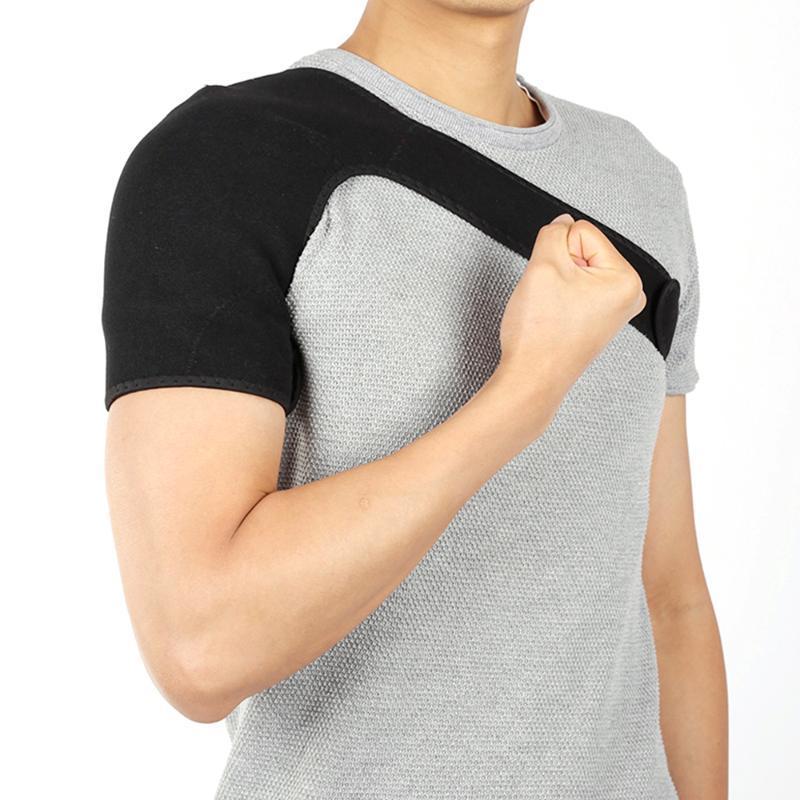Schulter-Stützklammer-Rückenschutz-Bügel-Verpackungs-Gurt-Band-Pads einzelne Schulter-Adjustable Breathable Sports Pflege Schutz Protect