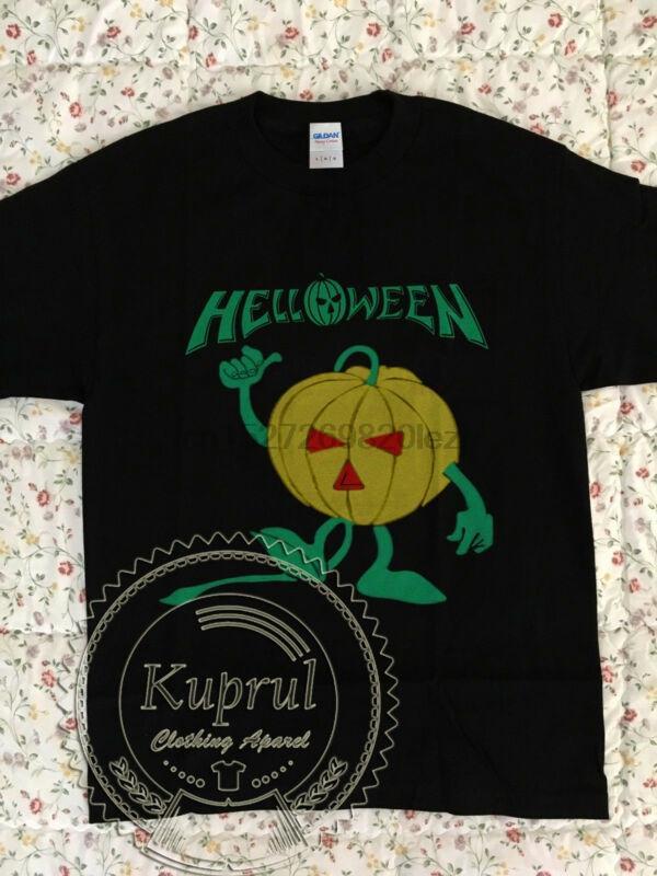 músculo de la vendimia Helloween calabaza 1987 nueva camiseta de Reproducción