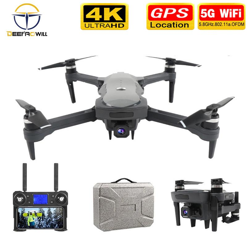 2020NEW K20 Drone With 4K Camera Dual GPS One-Key Return Headless Mode Follow Me Circle Fly RC Drones toys
