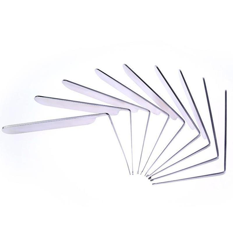 Nova chegada 9pcs HONESTO serralheiro ferramentas de bloqueio de auto picareta porta conjunto abridor de pegar ferramentas frete grátis