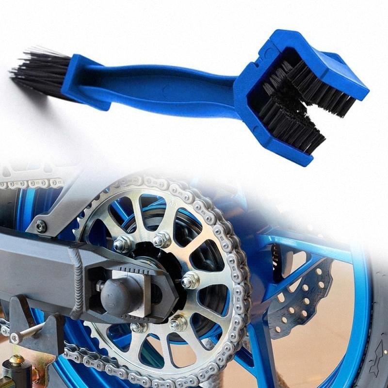 Voiture Accessoires de nettoyage universel Rim Entretien des pneus de moto Dérailleur chaîne Entretien Cleaner saleté brosse de nettoyage Kits 2TsK #