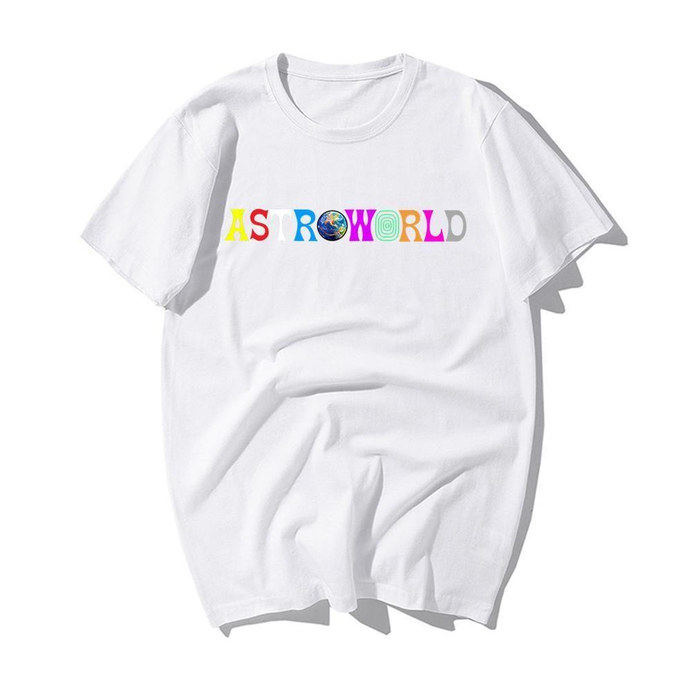 2020 Nouveau mode Hip Hop T-shirt Homme Femme Travis Scotts AstroWorld ICON T-shirts Tu me manques Lettre Imprimer T-shirts taille Tops S-3XL VAUG #