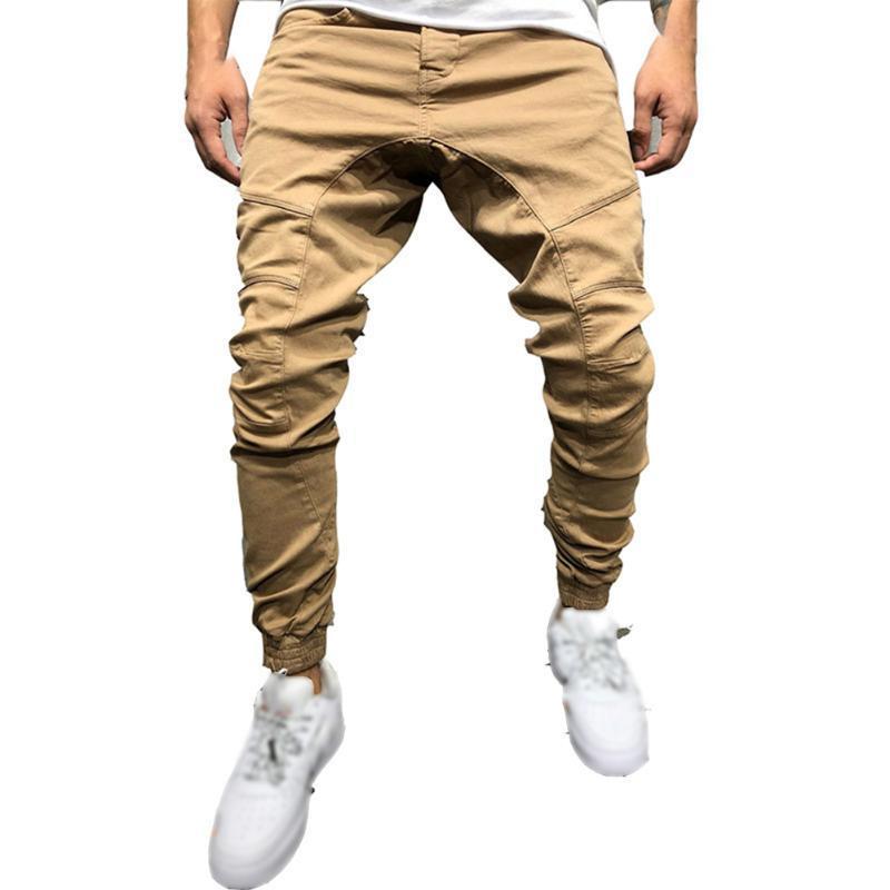 Pantalones casuales para hombre verano caliente primavera fresca de la manera popular Comfort cómodo