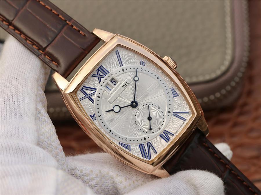 2020 Твердый переплет, размер 42mmX35mm водонепроницаемая глубина 3 ра (30 м) дизайнер часы наручные часы наручные швейцарские часы мужские часы